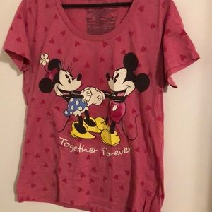 Minnie & Mickey Tee